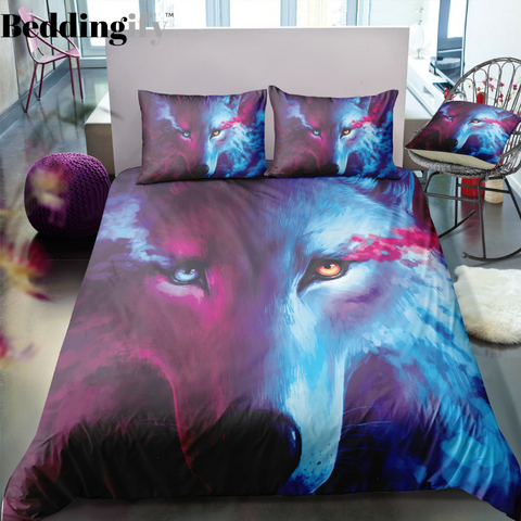 Magical Mystic Wolf Bedding Set