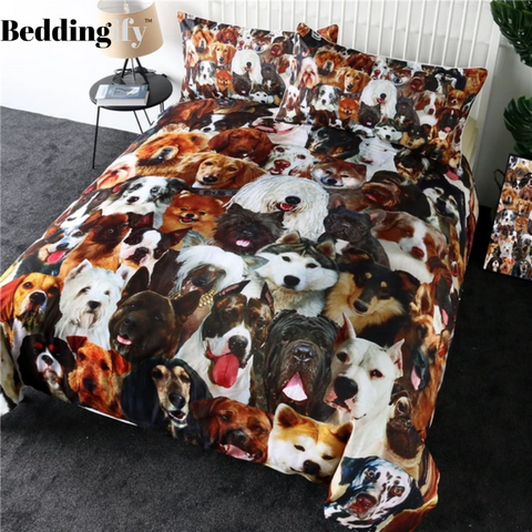 3D Dog Bedding Set - Beddingify