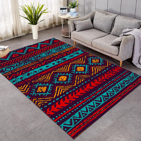 Aztec Warm Color Textile SW1164 Rug