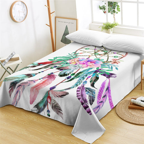 Atomic Dream Catcher Flat Sheet - Beddingify