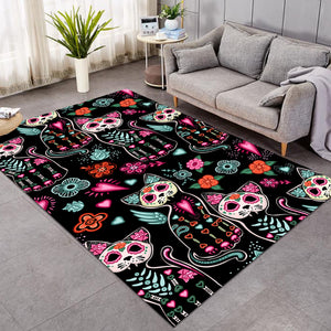 X-rayed Cats SW1169 Rug