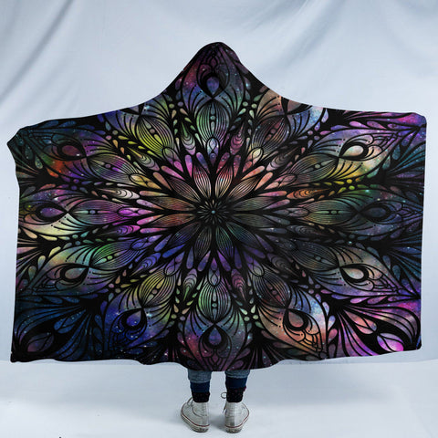 Image of Feathers SW2021 Hooded Blanket