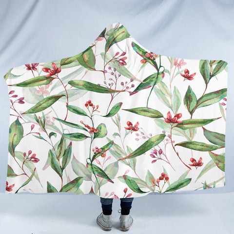 Image of Pretty Plant SW2332 Hooded Blanket