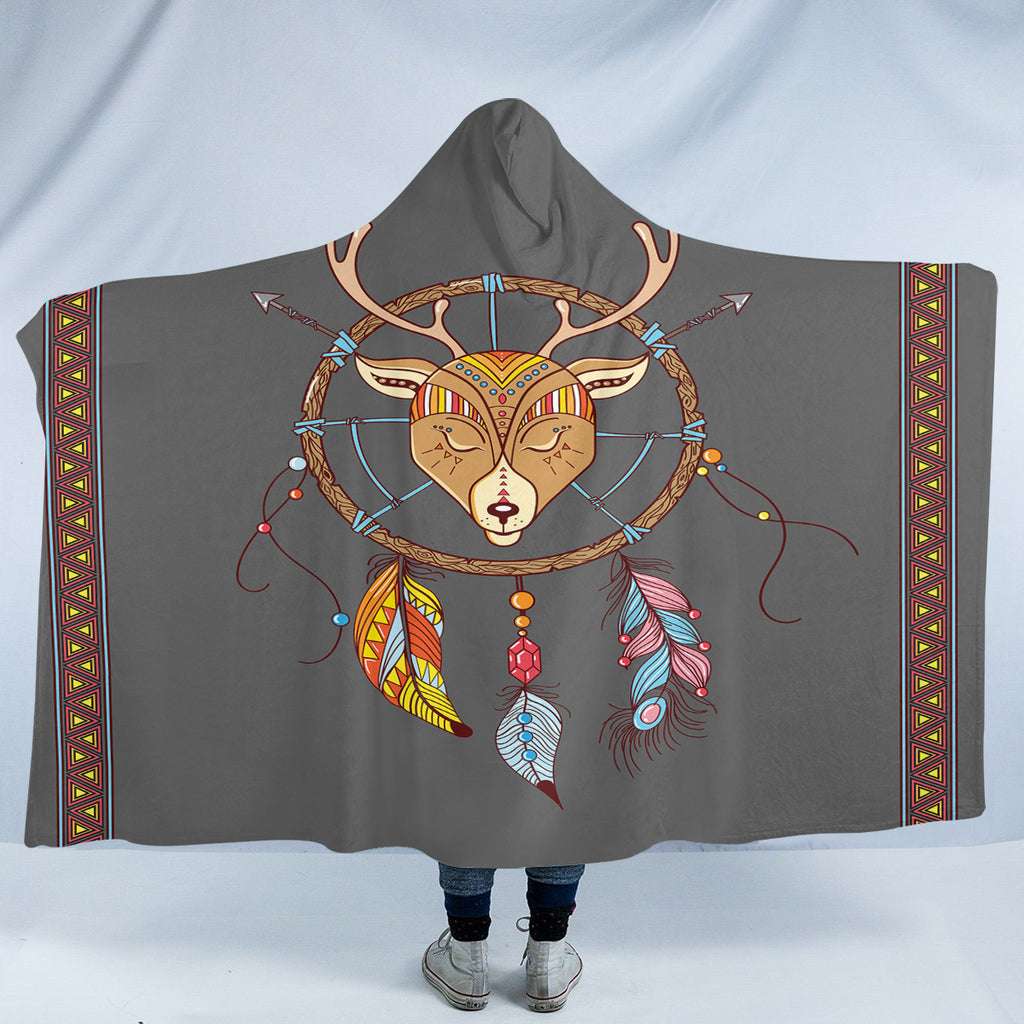 Antler Dreamcatcher SW2374 Hooded Blanket
