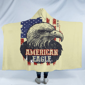 American Eagle SW1844 Hooded Blanket