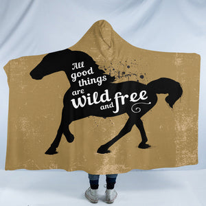 Wild & Free SW2532 Hooded Blanket