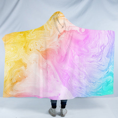 Colorful Sand SW2533 Hooded Blanket