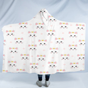 Kitty Cats SW2318 Hooded Blanket