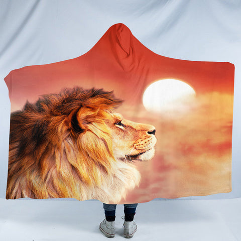 Lion Lord SW2188 Hooded Blanket