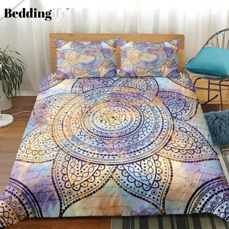 Mandala Flower Bedding Set - Beddingify