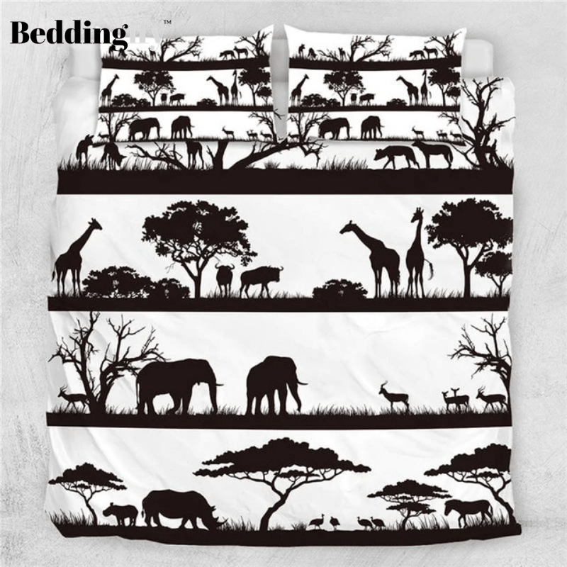 African Animals Bedding Set - Beddingify