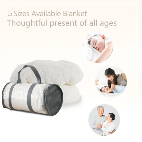 All You Need Is Lashes Sherpa Fleece Blanket - Copy