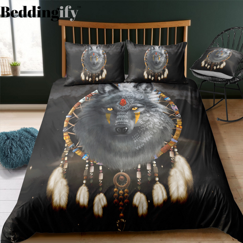 Image of Mystic Wolf Bedding Set - Beddingify