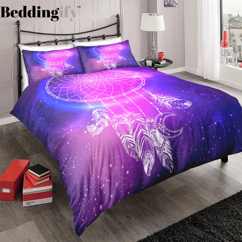 Galaxy Dreamcatcher Bedding Set - Beddingify