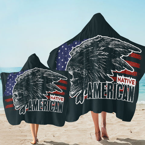 Image of Native American SW1826 Hooded Towel