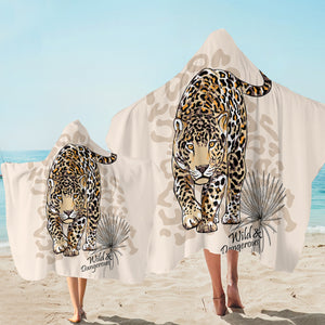 Wild & Dangerous Tiger SW2519 Hooded Towel