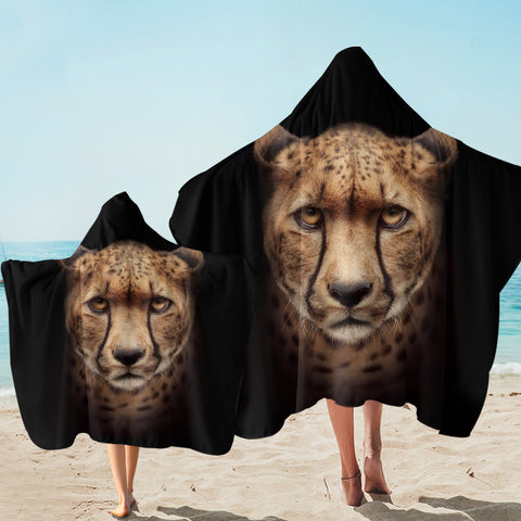 3D Cheetah SW2506 Hooded Towel