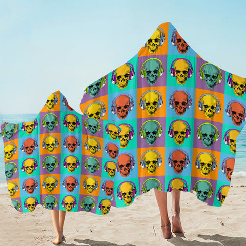 Skull Profiles SW2503 Hooded Towel