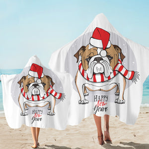 Holiday Pug SW2525 Hooded Towel