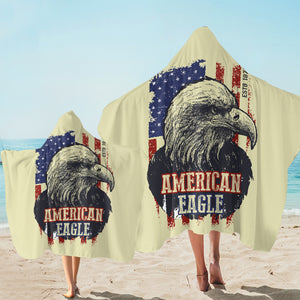 America Eagle SW1844 Hooded Towel