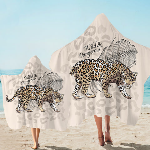 Wild & Dangerous SW2518 Hooded Towel