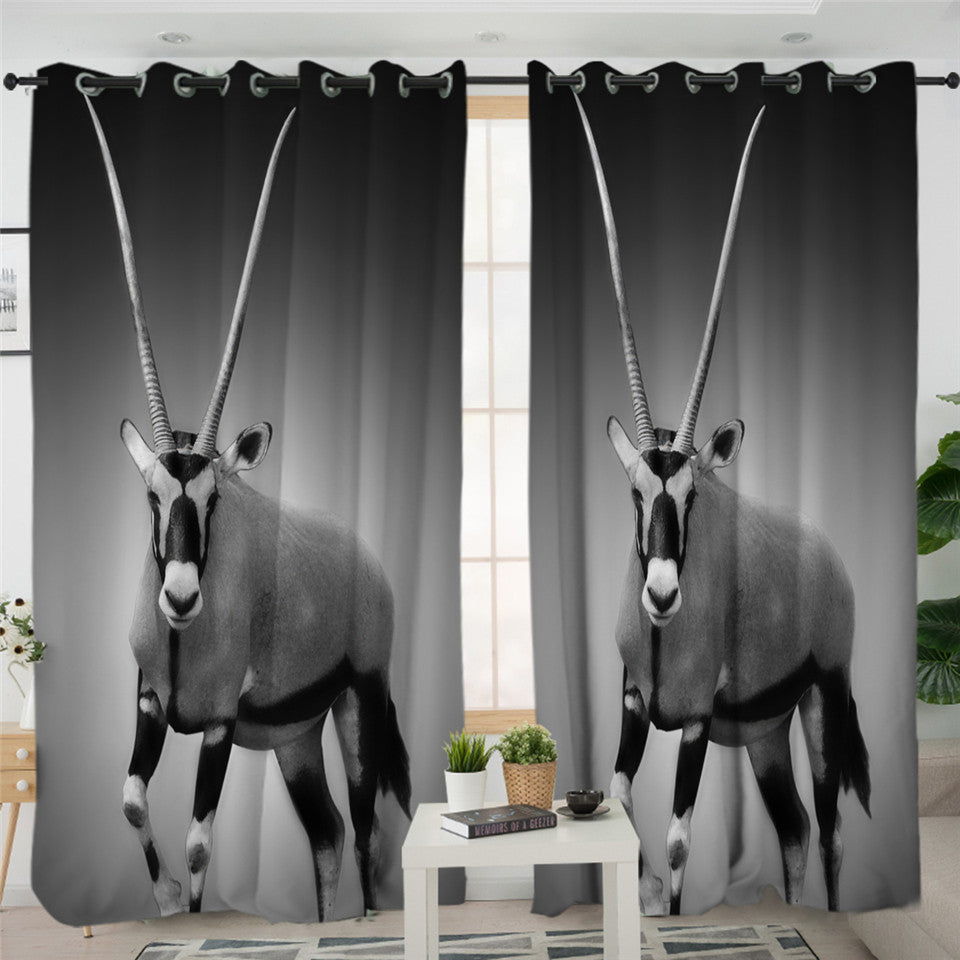 Antelope 2 Panel Curtains