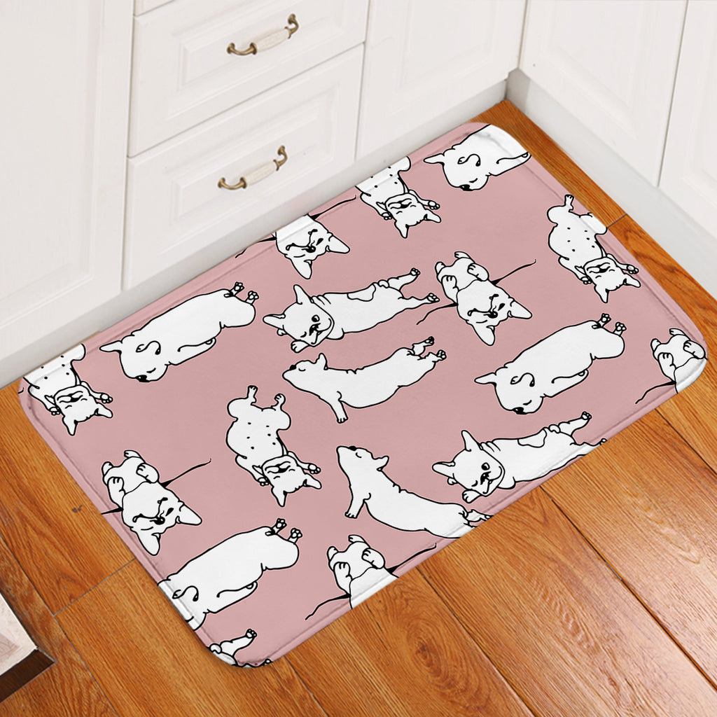A Dog's Thing Pink Door Mat