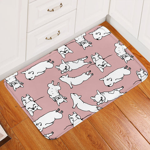 Image of A Dog's Thing Pink Door Mat