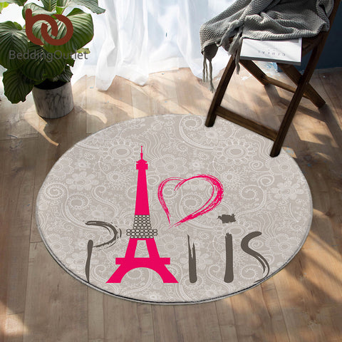 Image of Paris SW0446 Round Rug