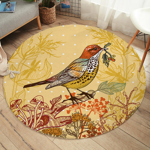 Image of Lively Sparrow SW2469 Round Rug