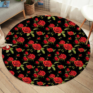 Rose Patterns SW2479 Round Rug