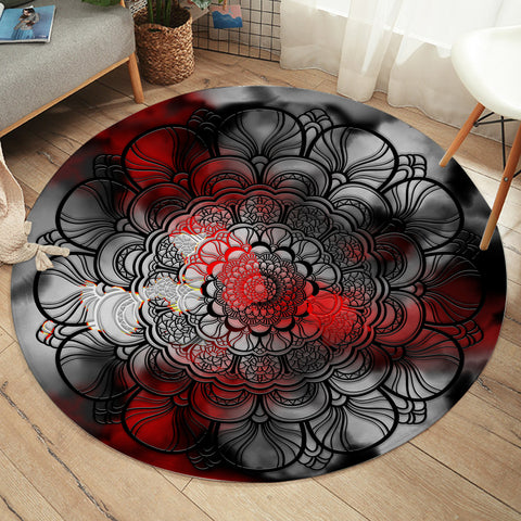 Image of Darken Wheel SW2379 Round Rug