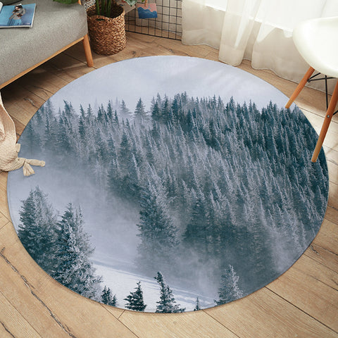 Image of Taiga Forest SW2249 Round Rug