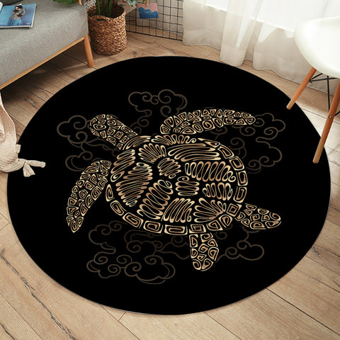 Image of Turtle SW2186 Round Rug