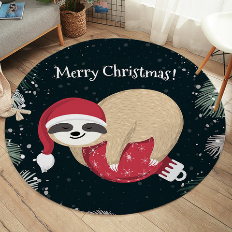 Image of SantaSloth SW2416 Round Rug