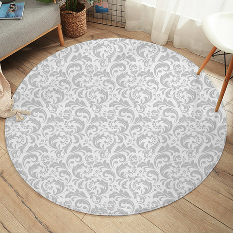 Image of Wallpaper Patterns SW2247 Round Rug