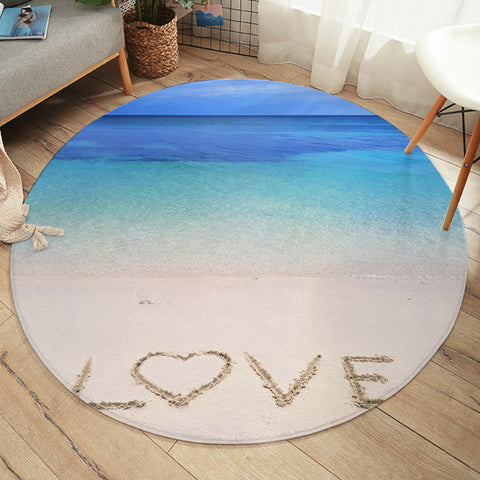 Image of Sandy Love SW2426 Round Rug