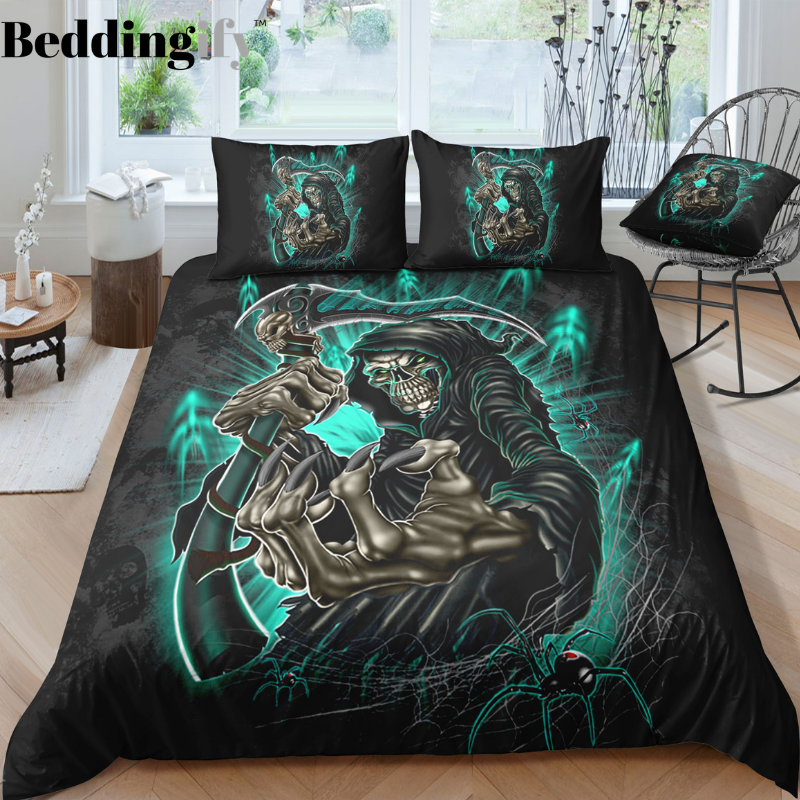 C3 Skull Bedding Set - Beddingify