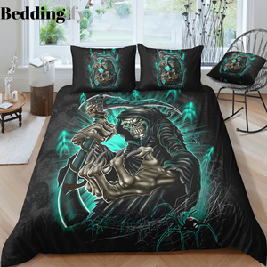 C3 Skull Bedding Set