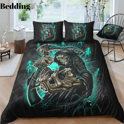 Image of C3 Skull Bedding Set - Beddingify