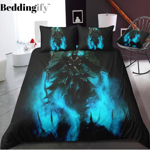 C4 Skull Bedding Set - Beddingify