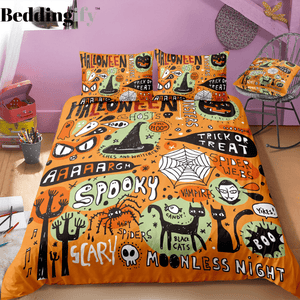 Sacrry Moonless Night Bedding Set