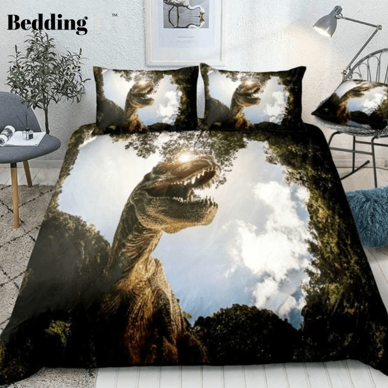 3D Dinosaur Bedding Set - Beddingify