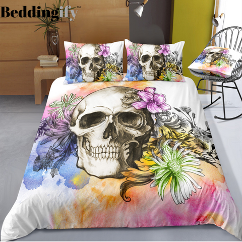 C5 Skull Bedding Set - Beddingify