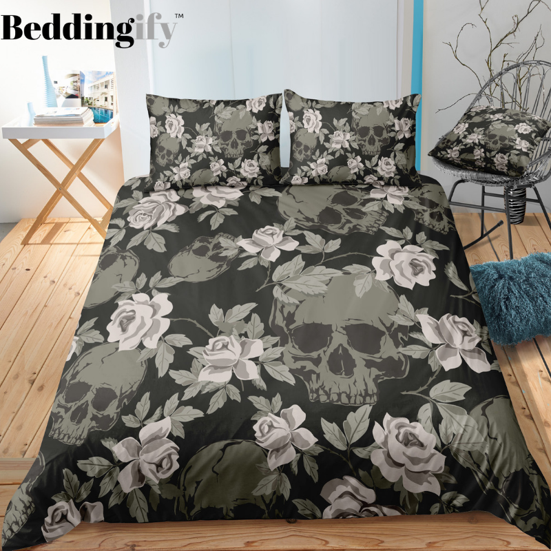 C9 Skull Bedding Set - Beddingify