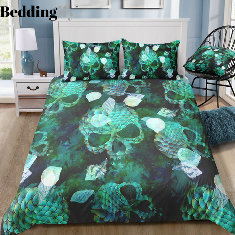 Image of C11 Skull Bedding Set - Beddingify