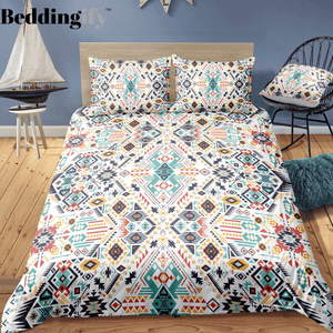Indian inspired - Chippewa Aztec Bedding Set - Beddingify
