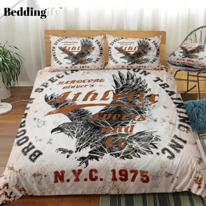 Athletic Eagle Bedding Set - Beddingify