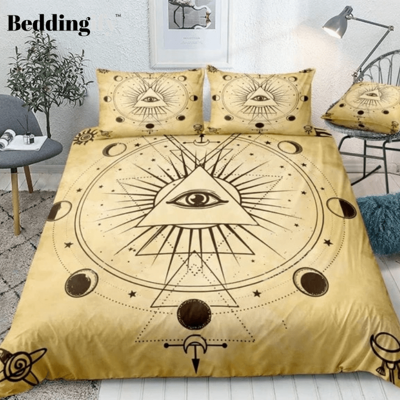 Mysterious Geometry Bedding Set - Beddingify