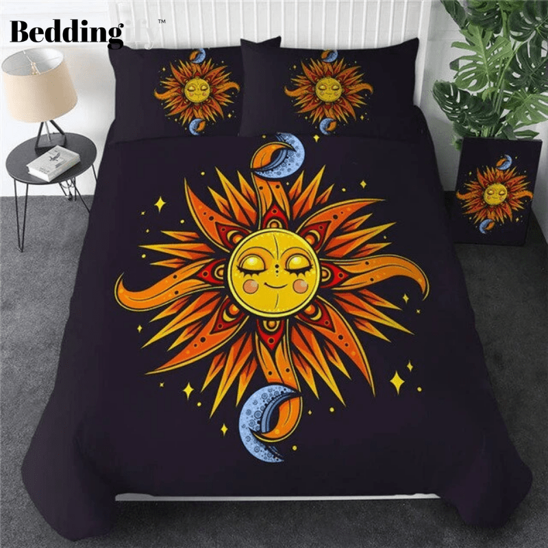 Sun and Moon Luxury Bedding Set - Beddingify